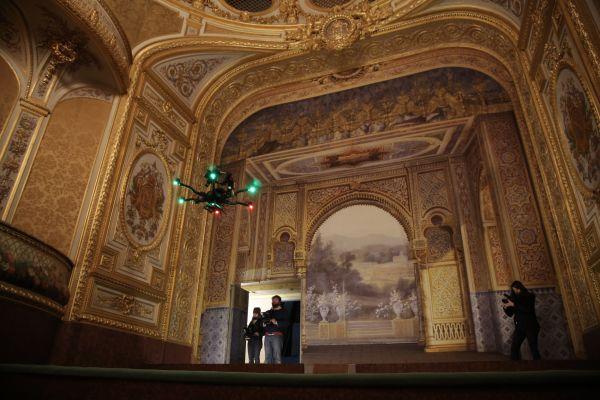 Shooting Indoor pour le Château de Fontainebleau 01