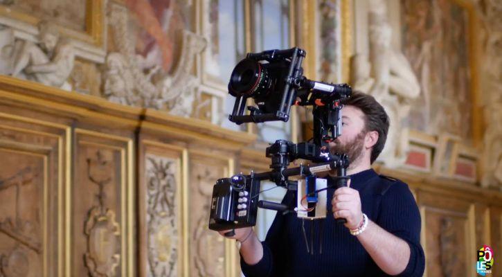 Shooting Indoor pour le Château de Fontainebleau