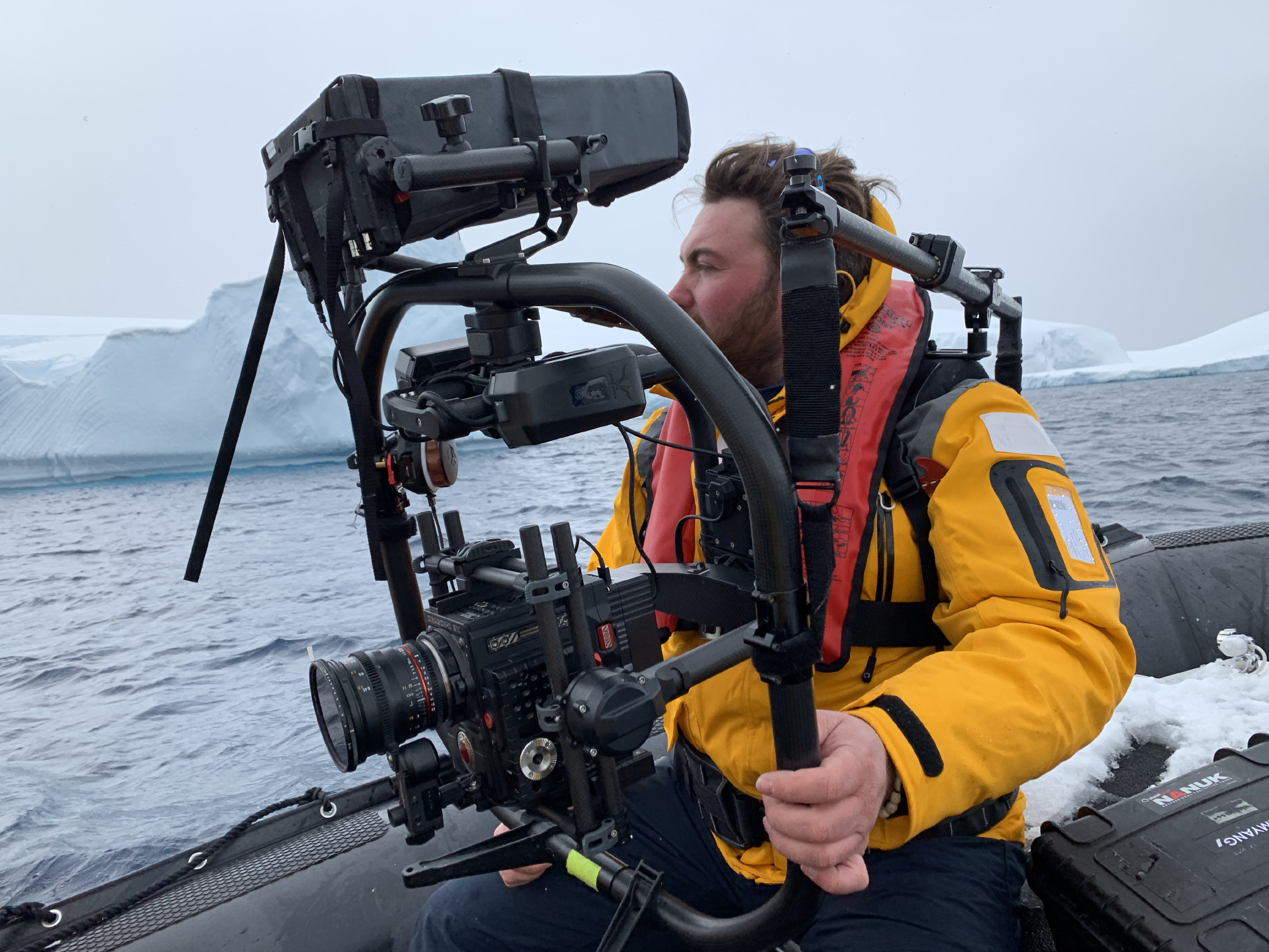 Tournage en Antarctique